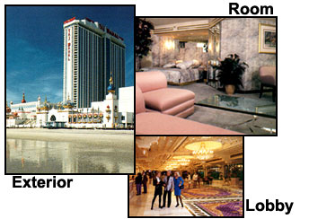 Atlantic City MOBIL TRAVEL GUIDE 1993 NJ New Jersey Casino Details about  /Trump Taj Mahal